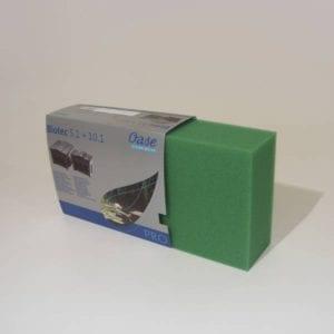 Części eksploatacyjne do systemów filtracji Gąbki filtracyjne do Biosmart 18-36000 zielone OASE
