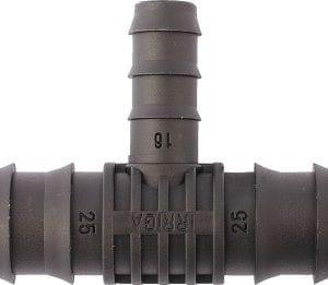 Trójnik wciskany 32x25x32