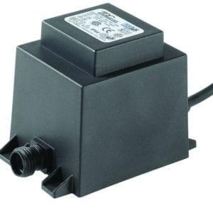 Oświetlenie ogrodu TRANSFORMATOR 21W AC 12V IP44