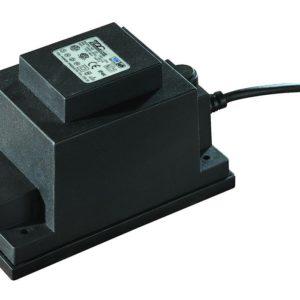 Oświetlenie ogrodu TRANSFORMATOR 60W AC 12V IP44