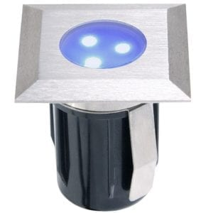 Oprawa do zabudowy ATRIA niebieski LED najazdowa/podwodna