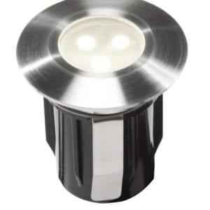 Oprawa do zabudowy ALPHA biały LED najazdowa/podwodna