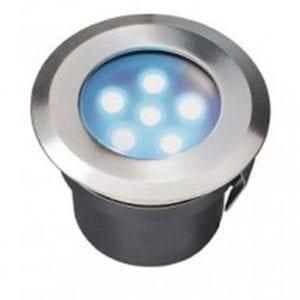 Oprawa do zabudowy Sirius niebieski LED najazdowa/podwodna
