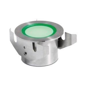 Reflektor LED 7W RGB stal nierdzewna podwodny do zabudowy