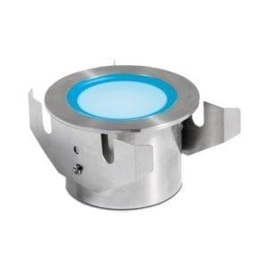 Reflektor LED 3W RGB stal nierdzewna podwodny do zabudowy