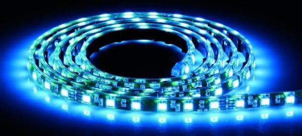 Taśma LED IP68 podwodna 24 Volt biały, biały ciepły, niebieski POST324